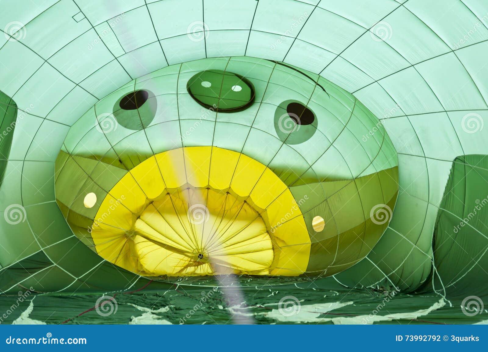 气球飞行热photgrphed显示VA的bealton马戏