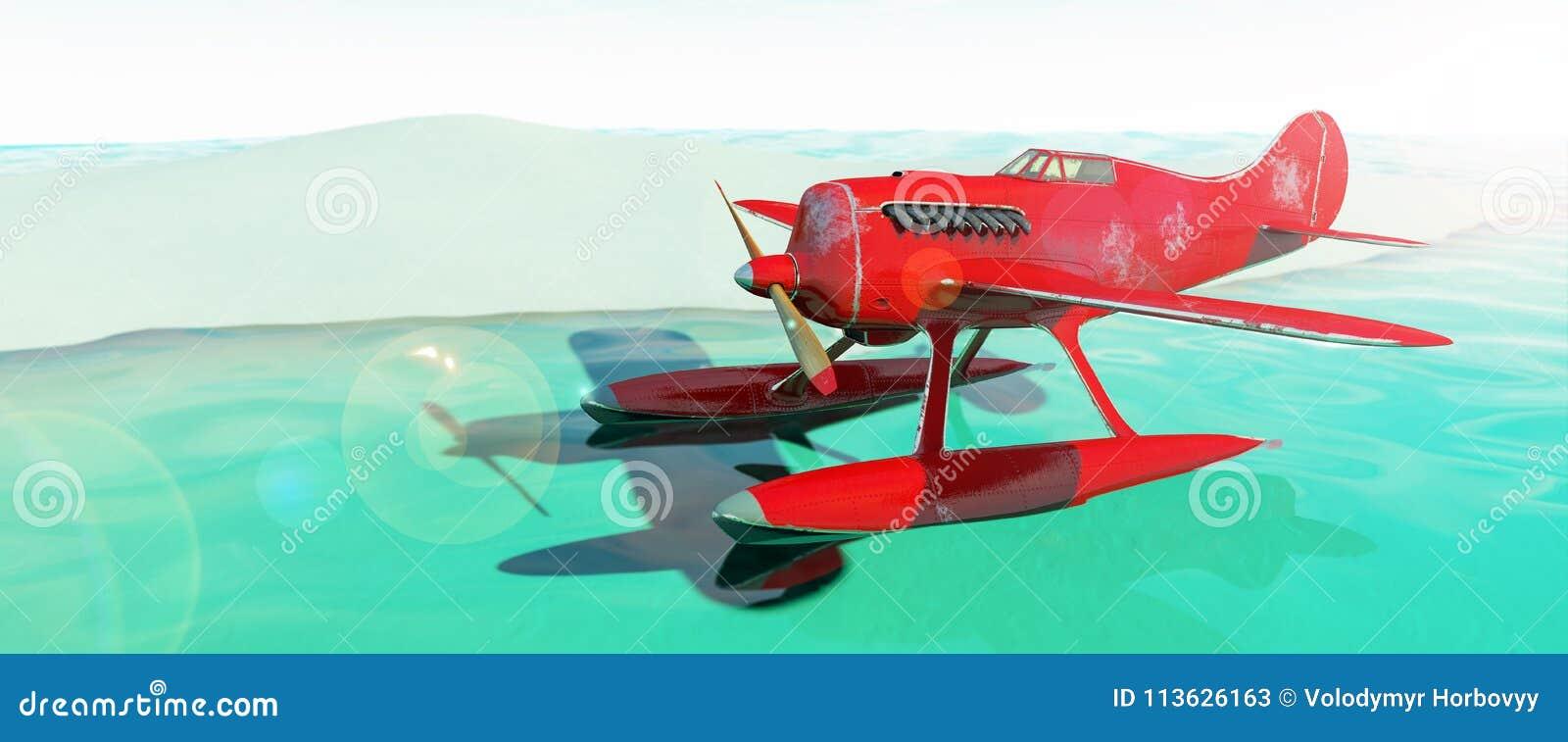水上飞机 3d回报