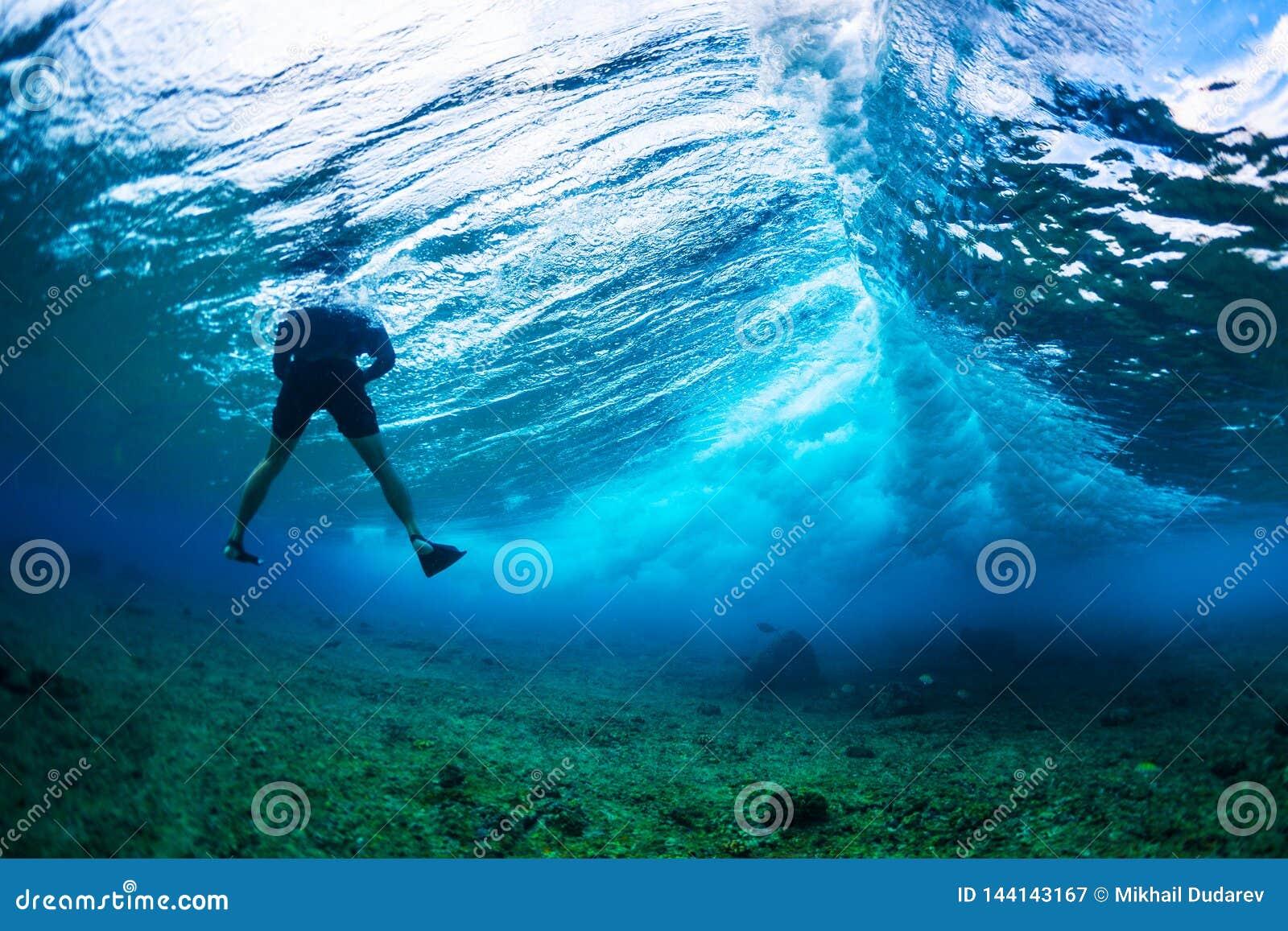 水下的摄影师
