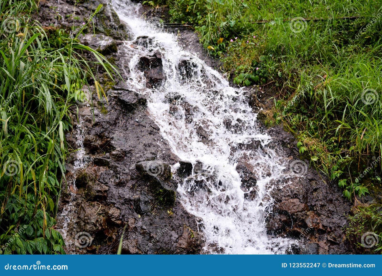 水小小河在印度尼西亚