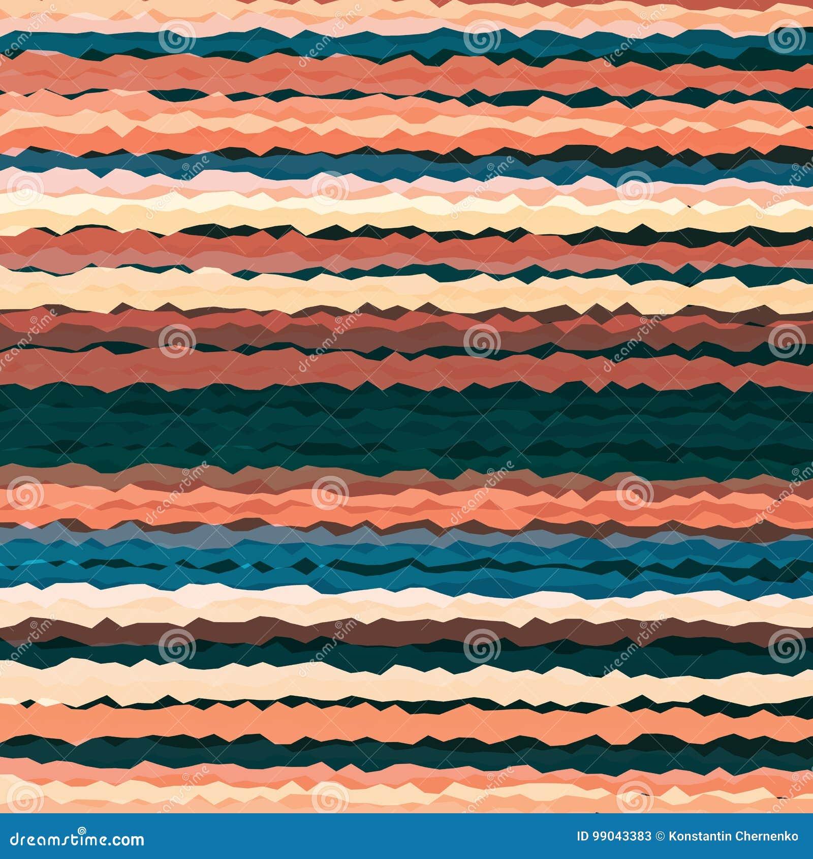 水平的波浪线样式背景