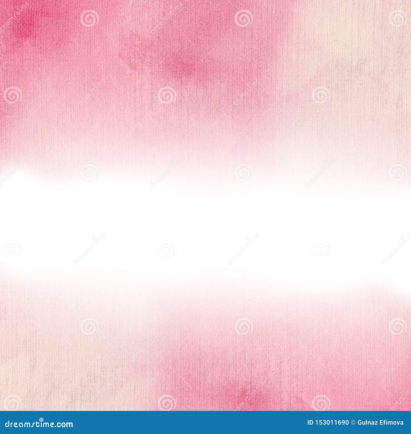 水彩嫩葡萄酒桃红色背景 卡片和邀请的理想