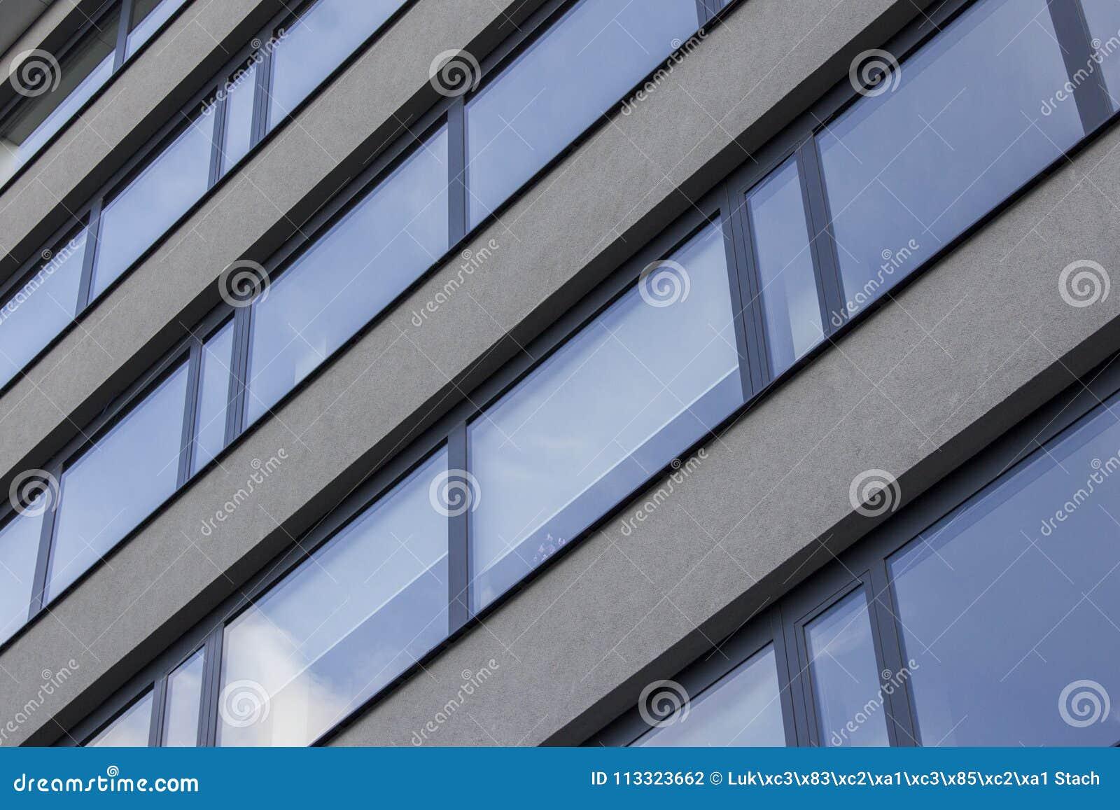 水泥和玻璃大厦在Prag