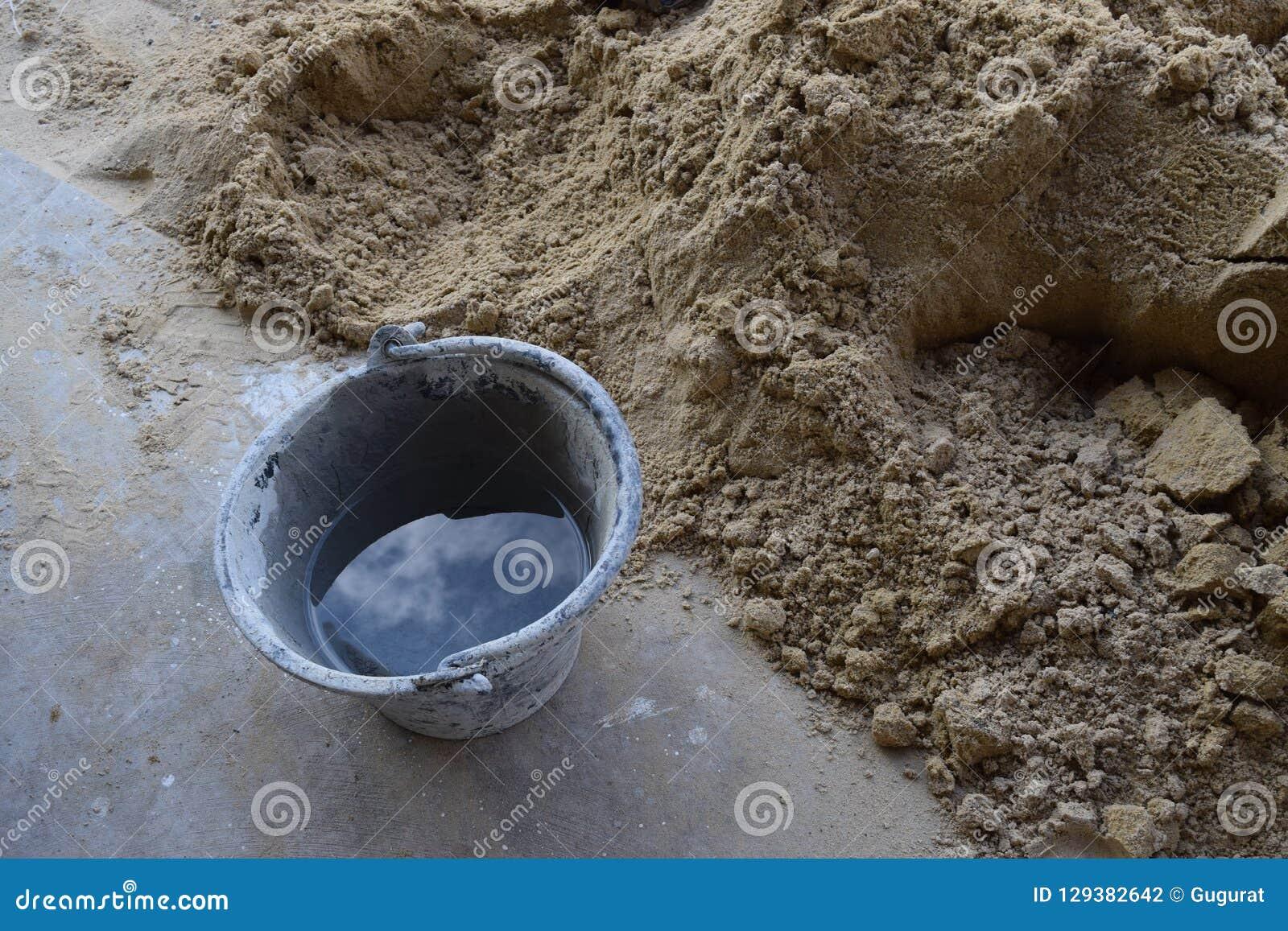 水泥混合混凝土是工业变紧密的沙子
