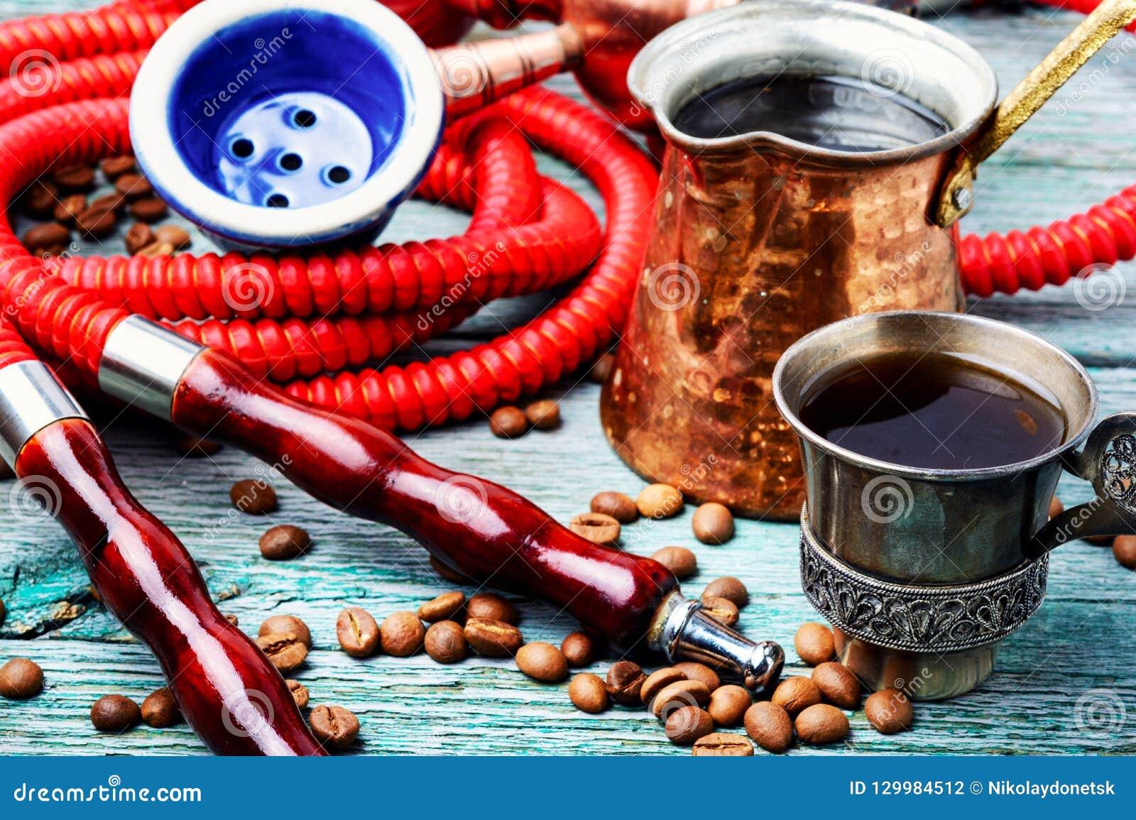 水烟筒用芳香咖啡