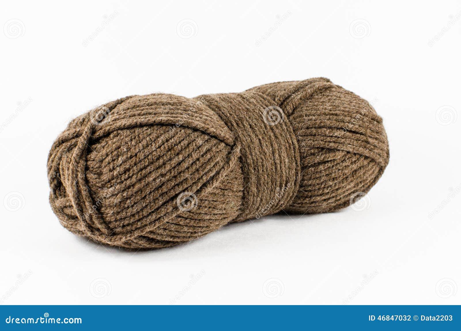 汉克褐色毛纱