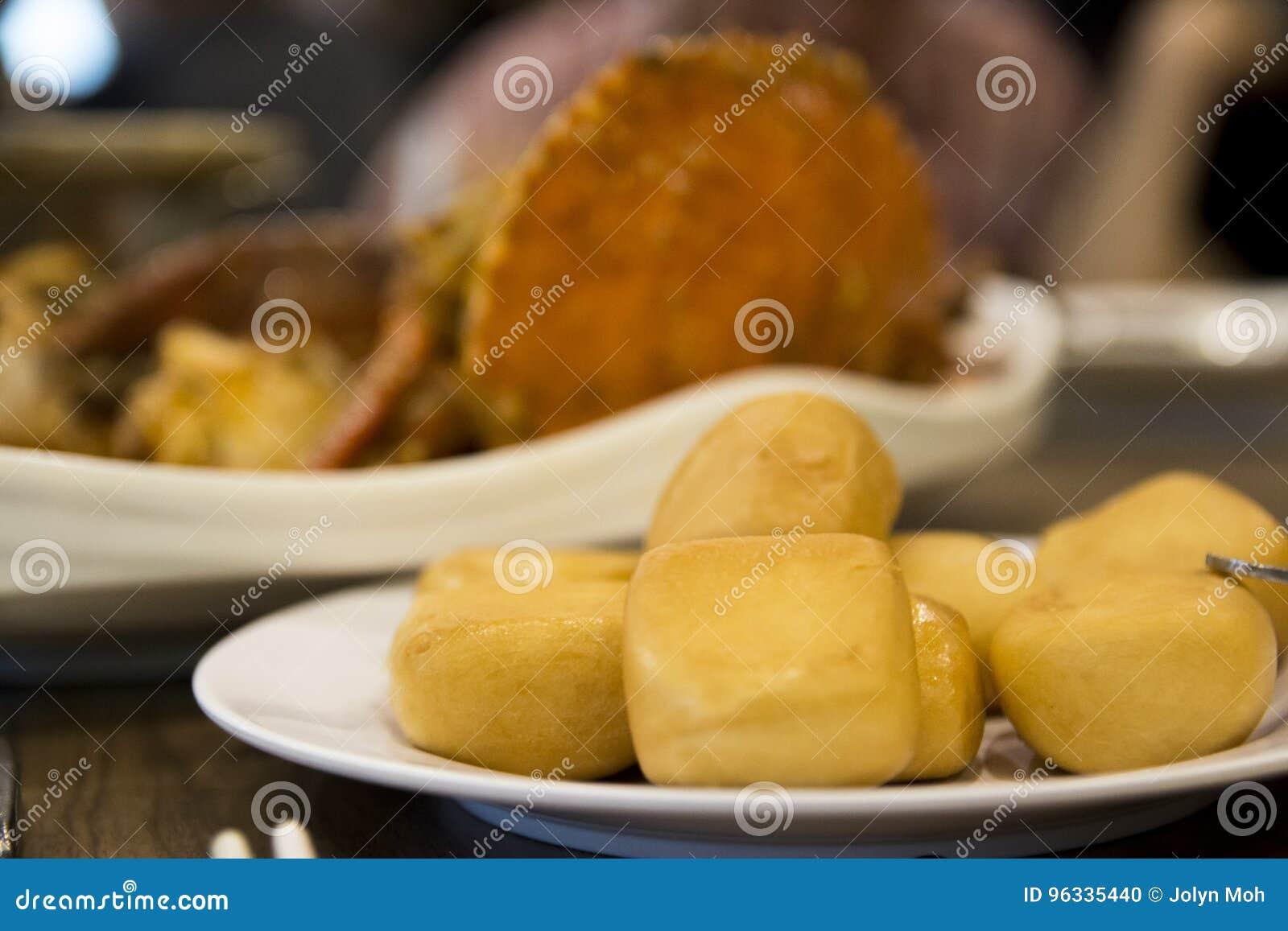 汉语的小圆面包