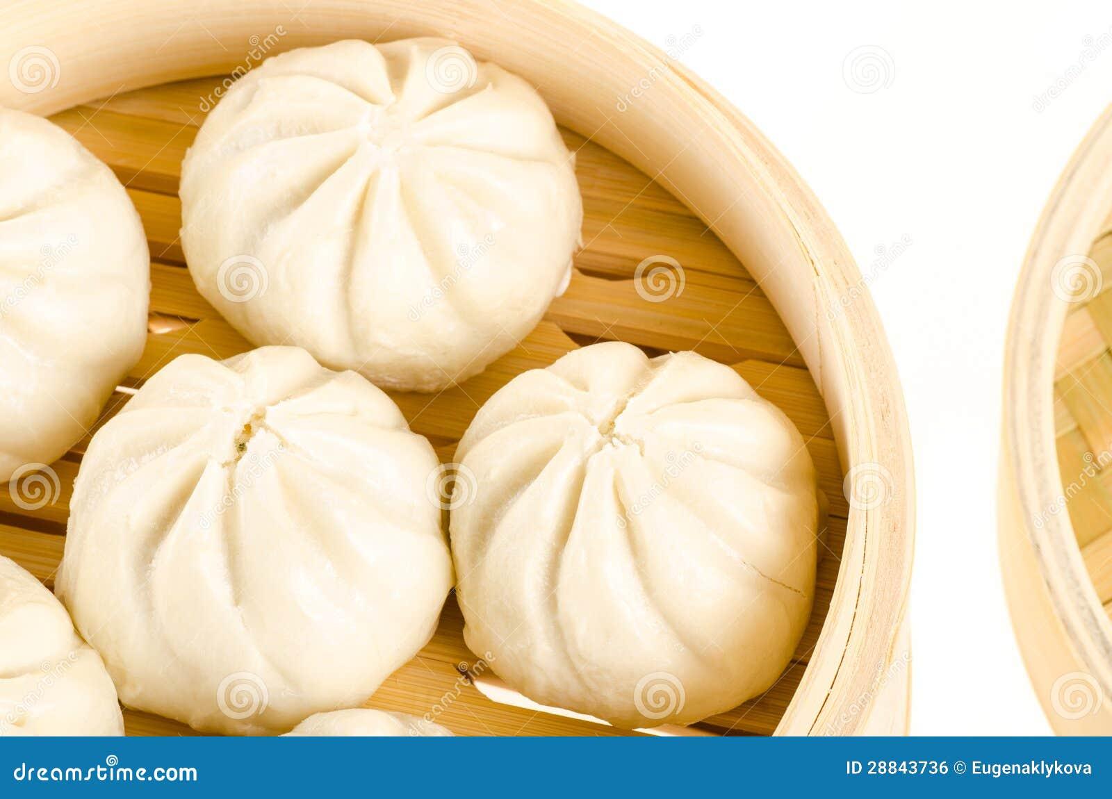 汉语蒸的小圆面包