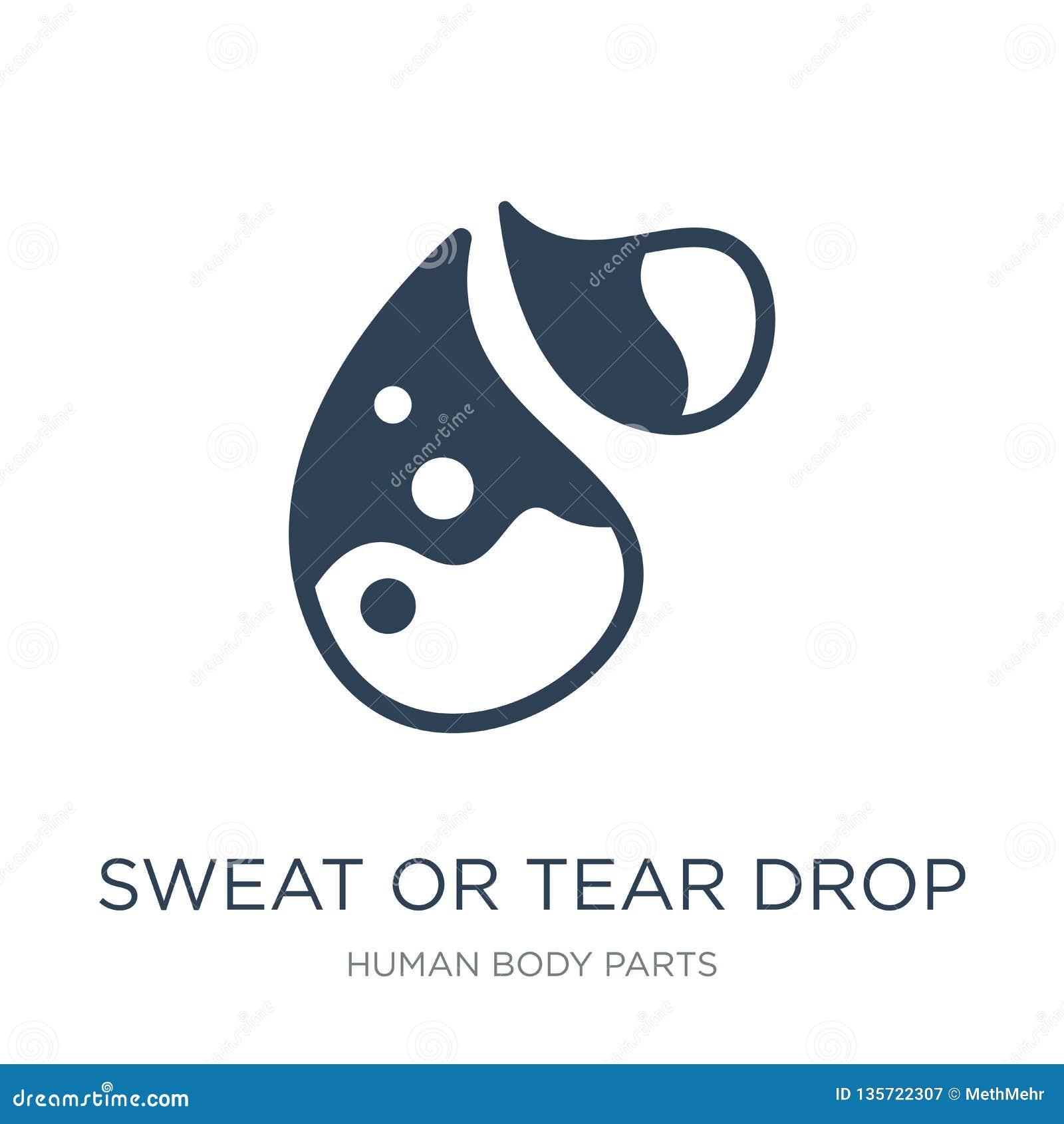 汗水或泪花在时髦设计样式的下落象 汗水或泪花在白色背景隔绝的下落象 汗水或泪花下落传染媒介