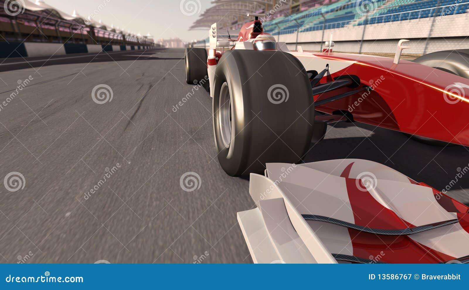 汽车一级方程式赛车