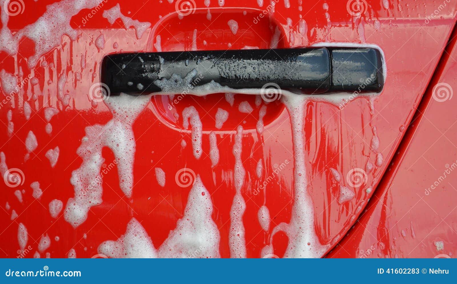 汽车干净的水管设备海绵洗涤