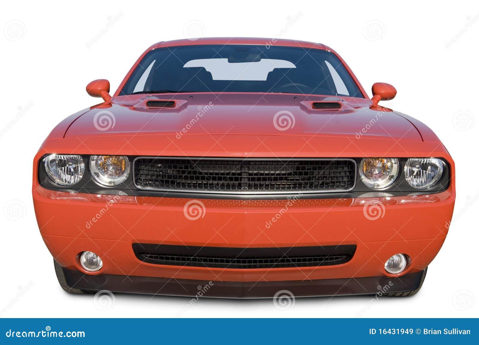 汽车挑战者推托肌肉