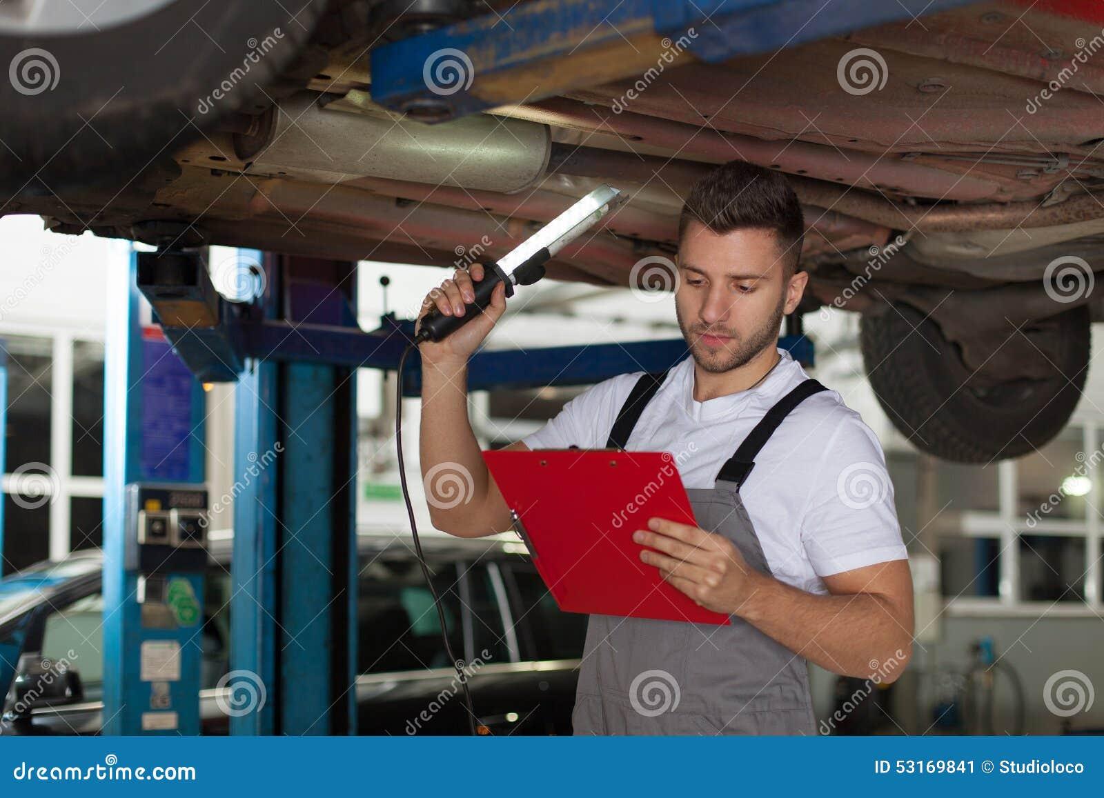 汽车机械师清单