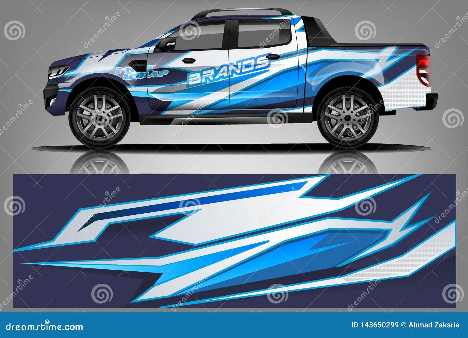 汽车标签套设计传染媒介 图表抽象车、赛车、集会、冒险和锂的条纹赛跑的背景成套工具设计