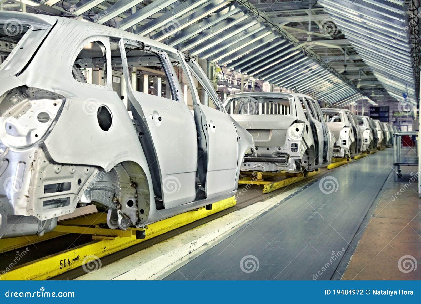 汽车汽车厂行