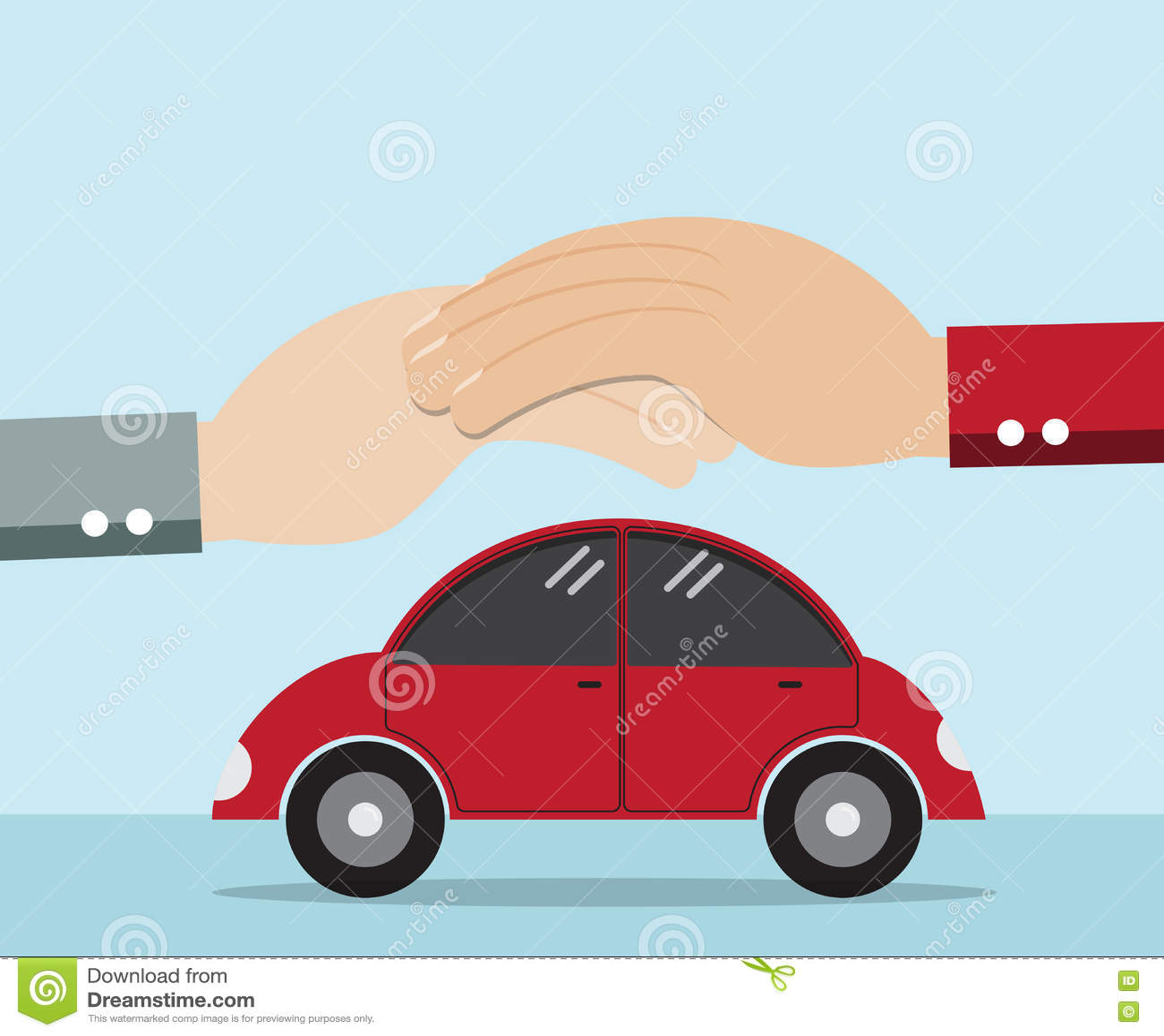 汽车的手保护