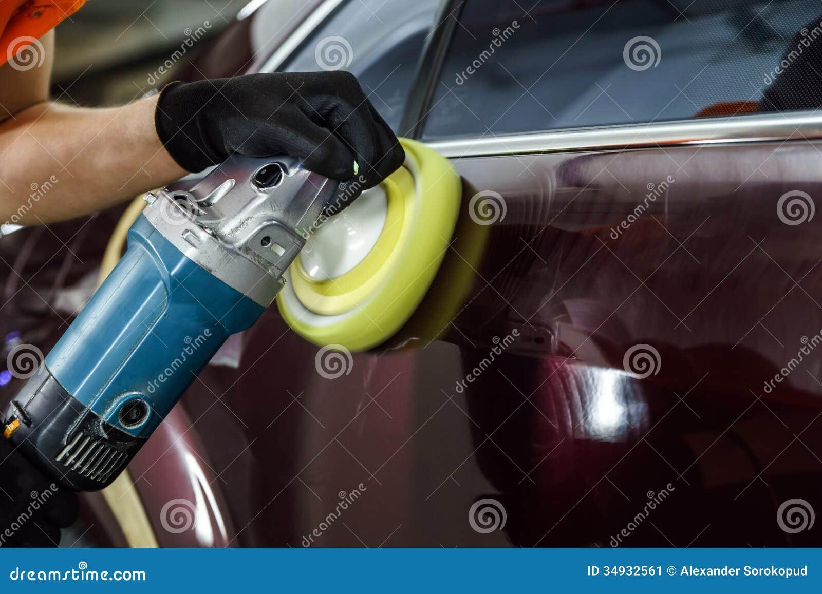 汽车表面抛光