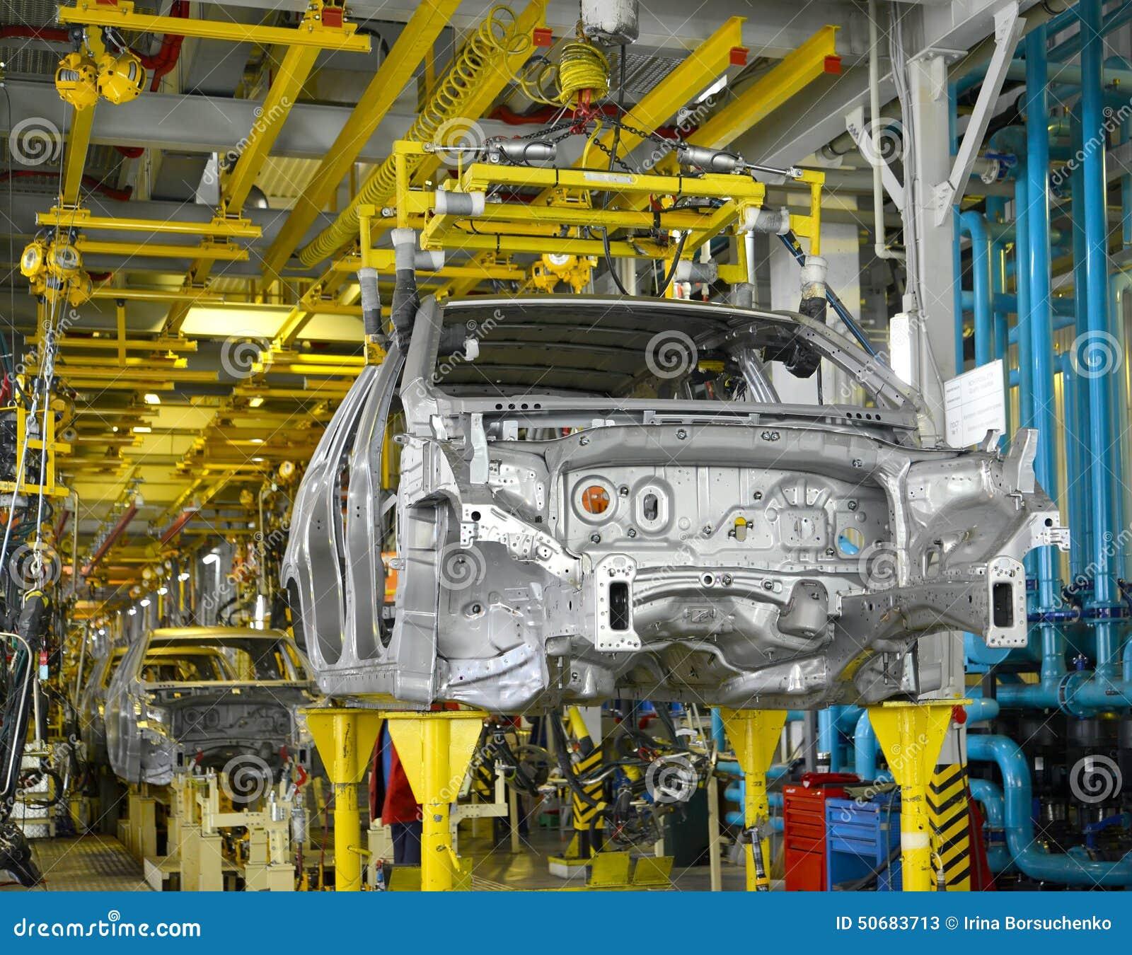Download 汽车被焊接的身体在焊接车间传动机的 库存图片. 图片 包括有 没人, 设备, 企业, 生产, 焊接, 人们 - 50683713