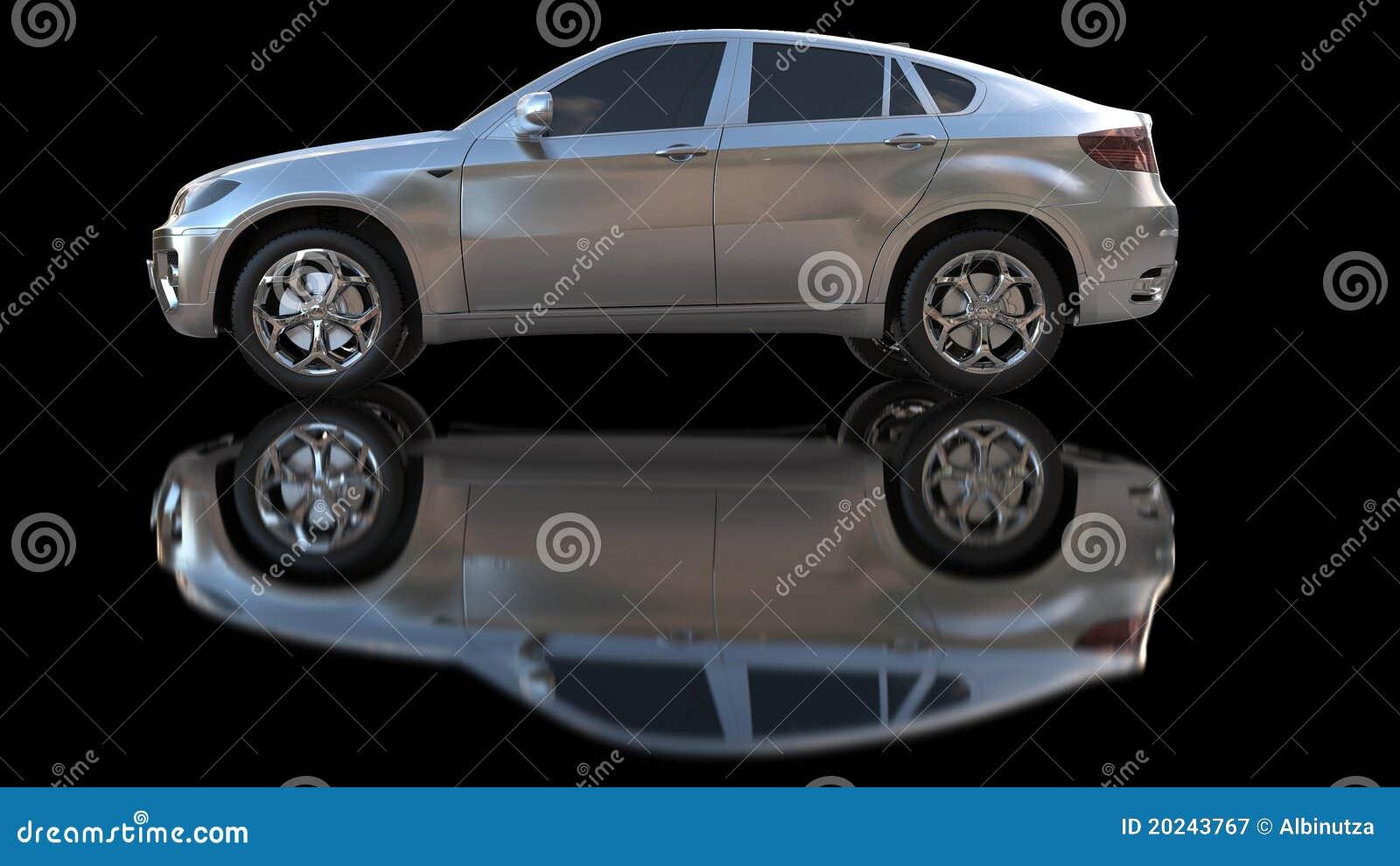 汽车银图片