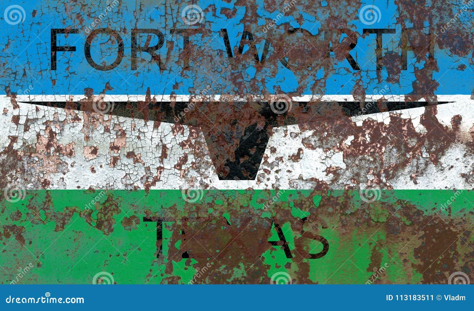 沃思堡市烟旗子,得克萨斯状态, Americ美国