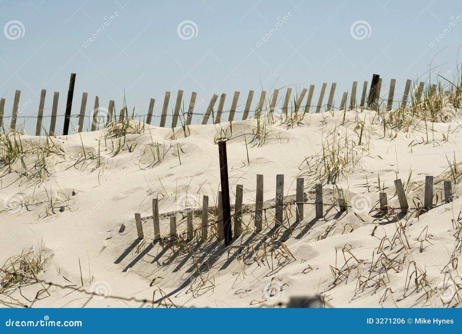沙丘范围沙子