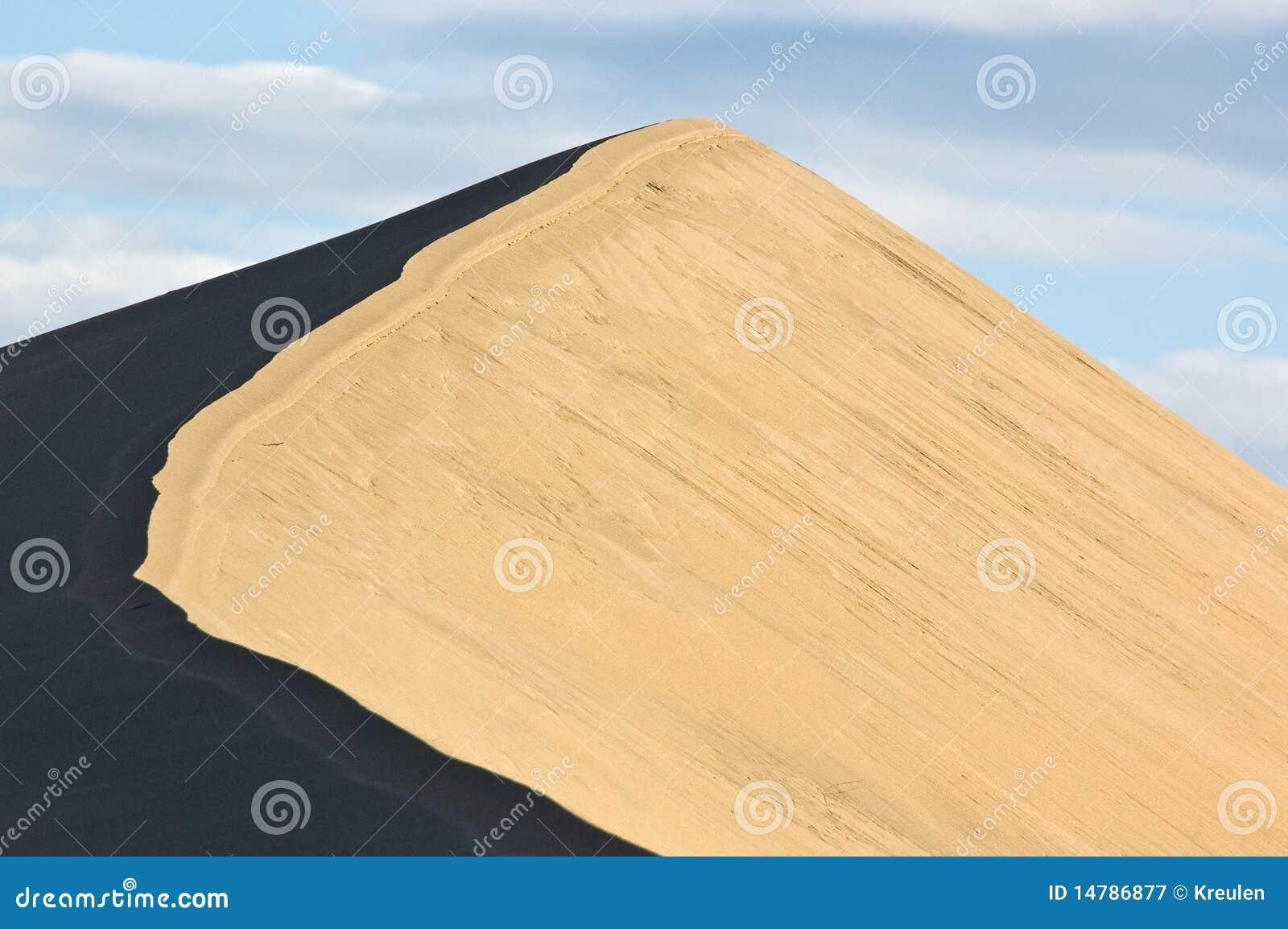 沙丘高峰沙子