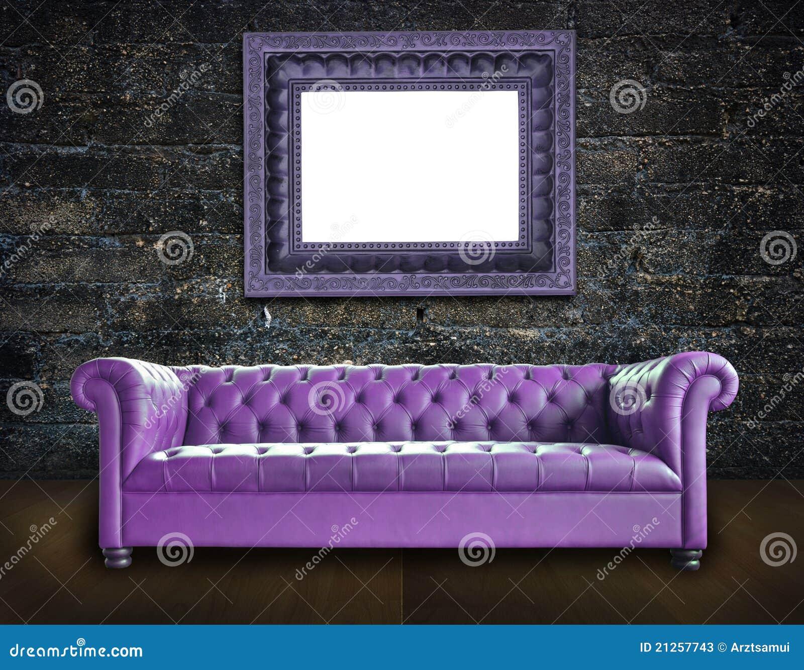 背景老空间唯一沙发样式葡萄酒.图片