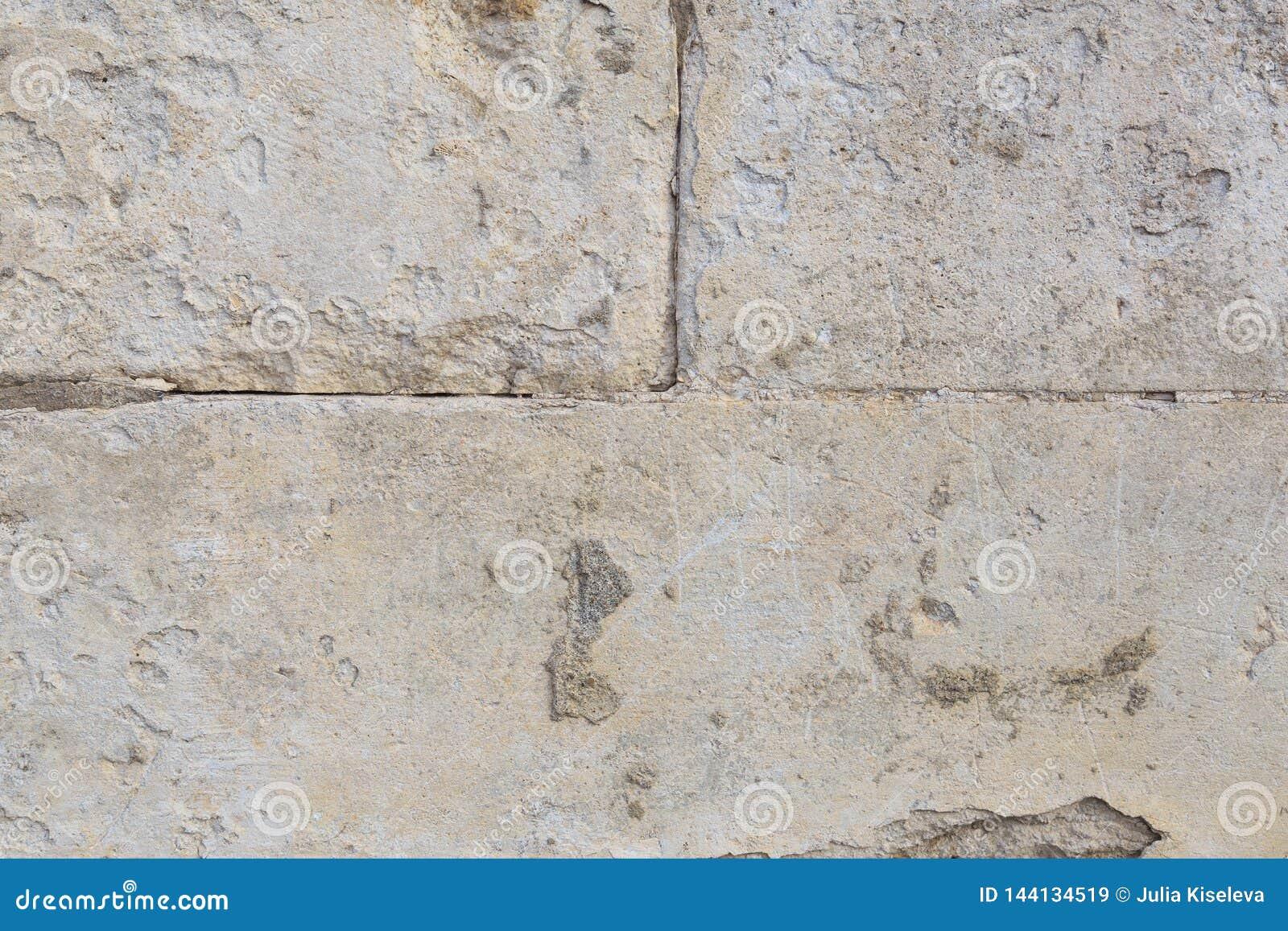 沙子和混凝土年迈的纹理