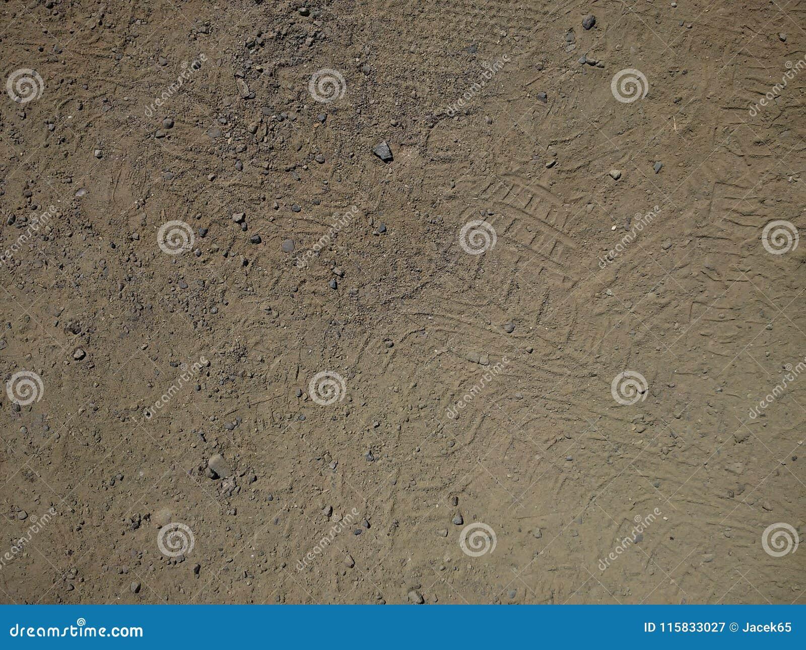 沙子和石渣
