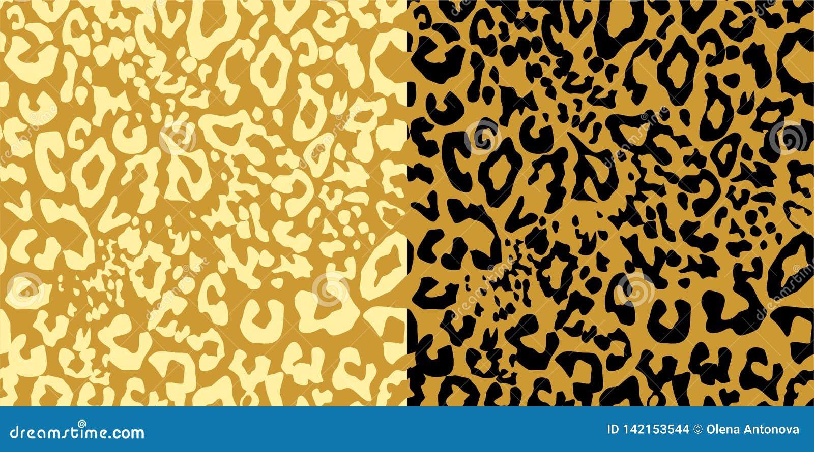 沙子色豹子打印变异 纺织品、T恤杉、袋子、海报、剪贴薄和其他设计的无缝的时尚墙纸