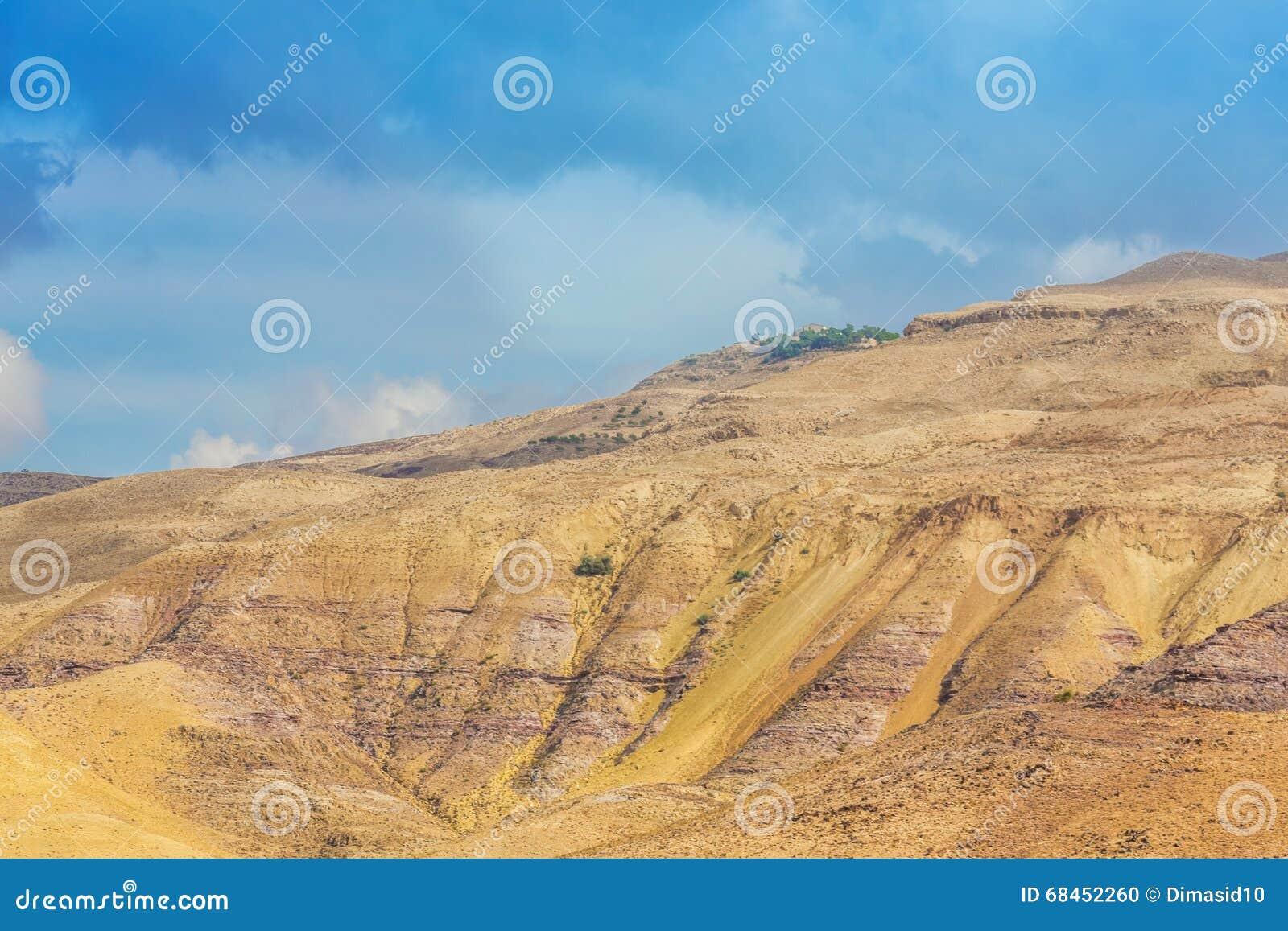 沙漠山风景,约旦,中东