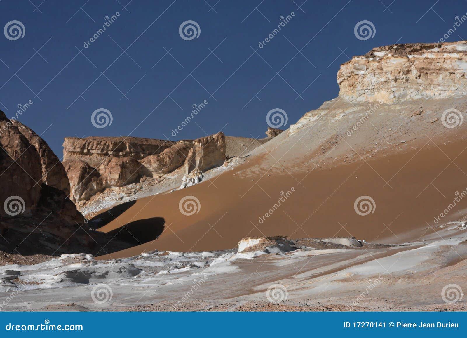 沙漠西方埃及的利比亚