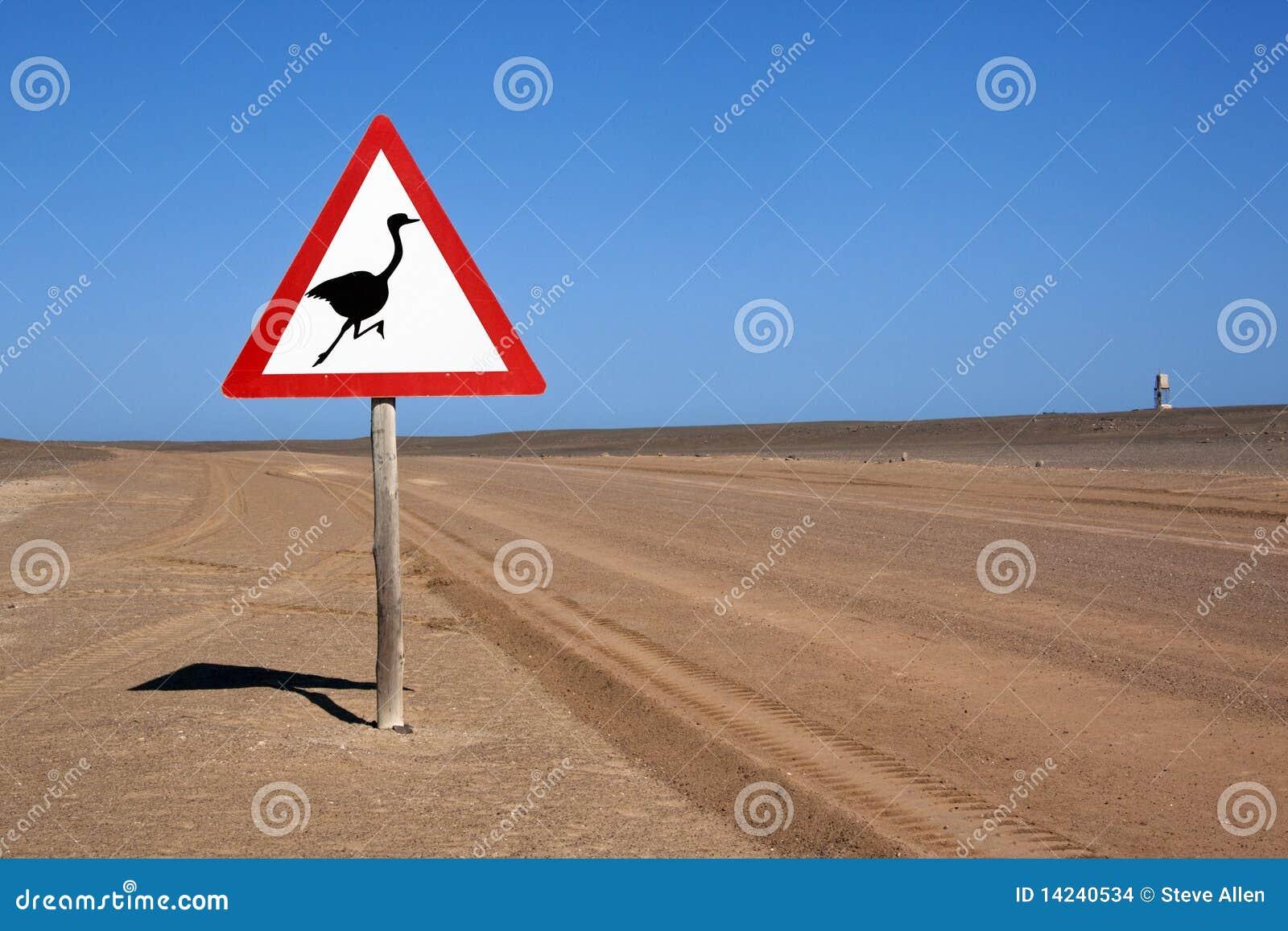 沙漠namib路标