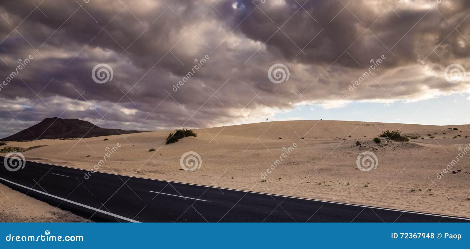 沙漠Road.Fuerteventura