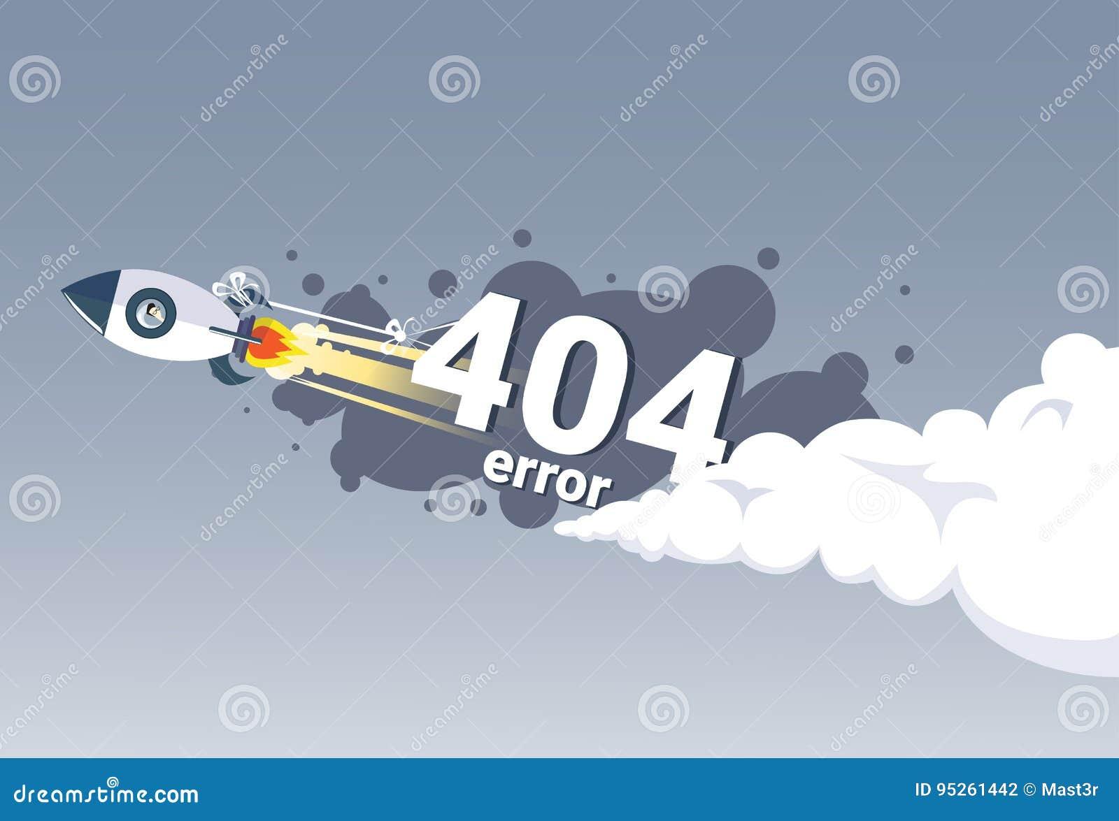 404没被找到的错误信息互联网连接问题概念横幅