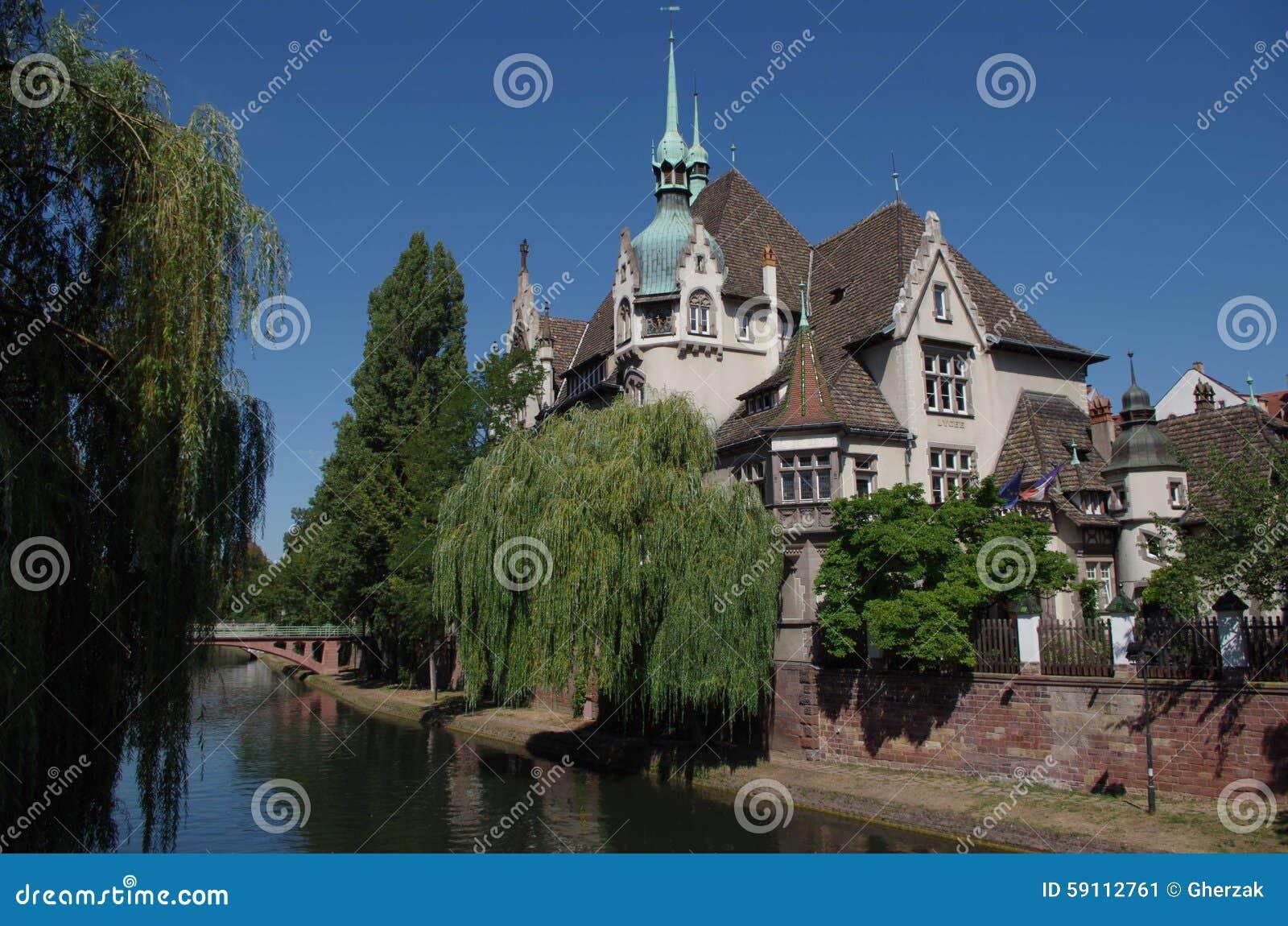 河恶意的史特拉斯堡,法国的浪漫看法
