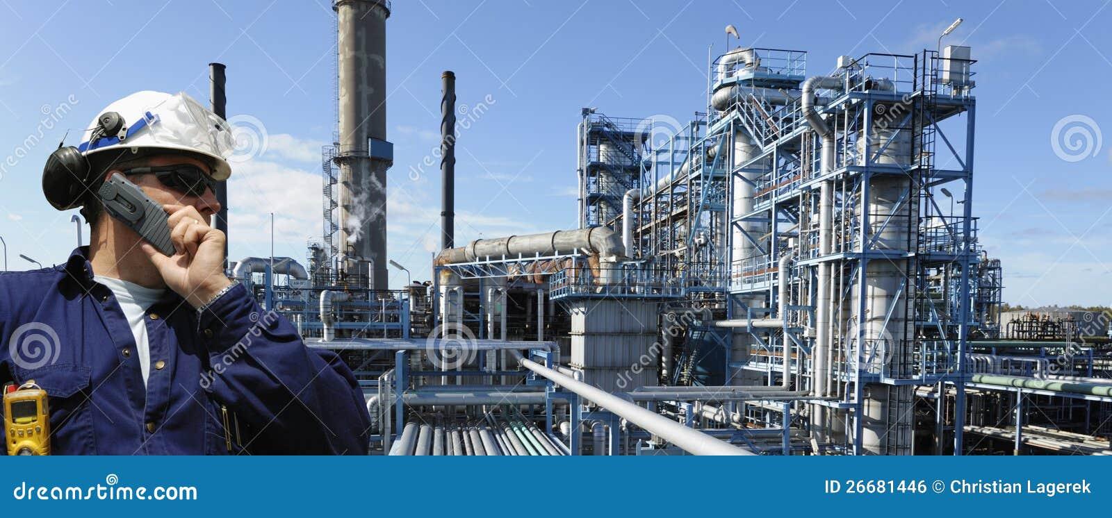 油和煤气工作者