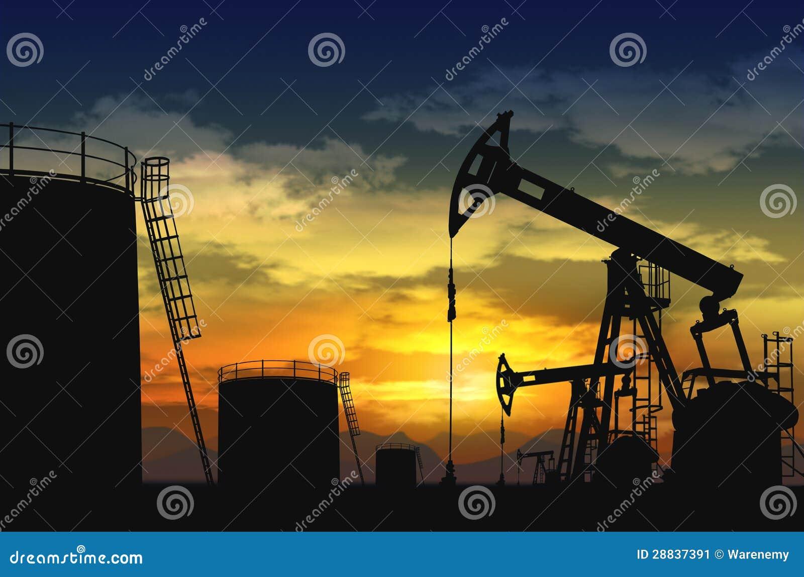 油泵插孔和油箱
