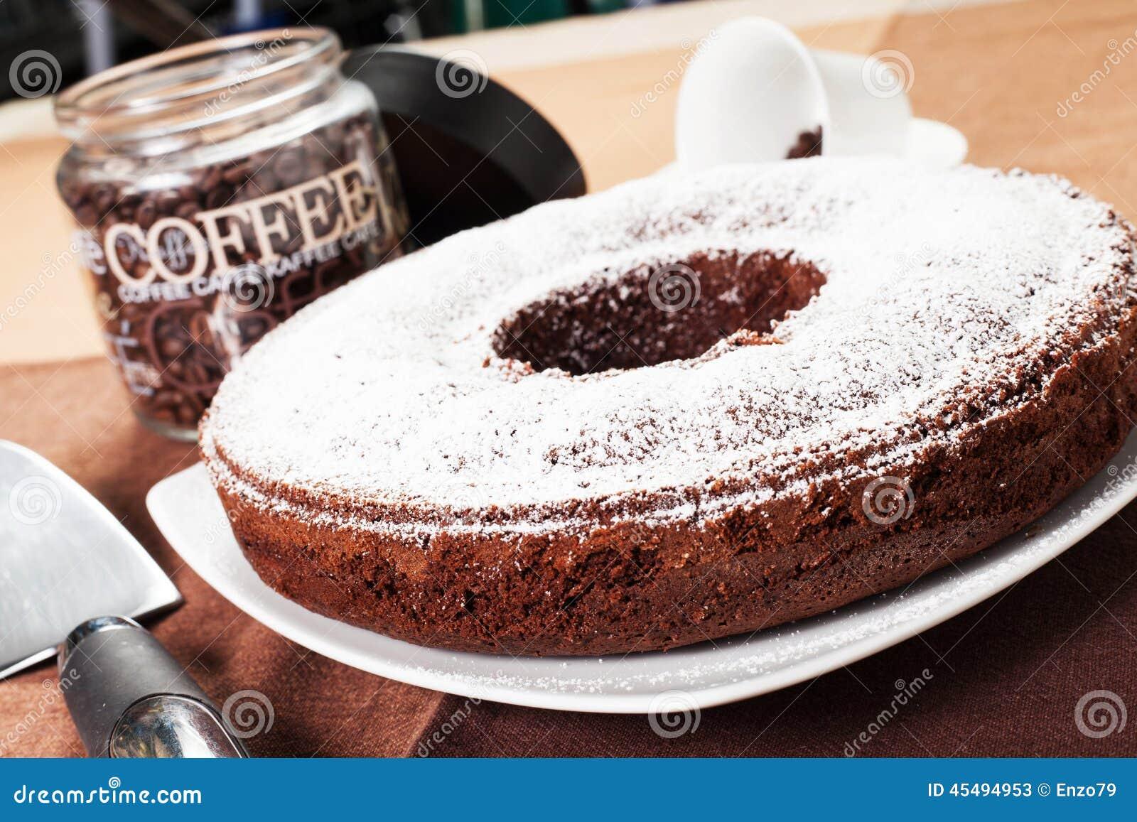 油炸圈饼形蛋糕