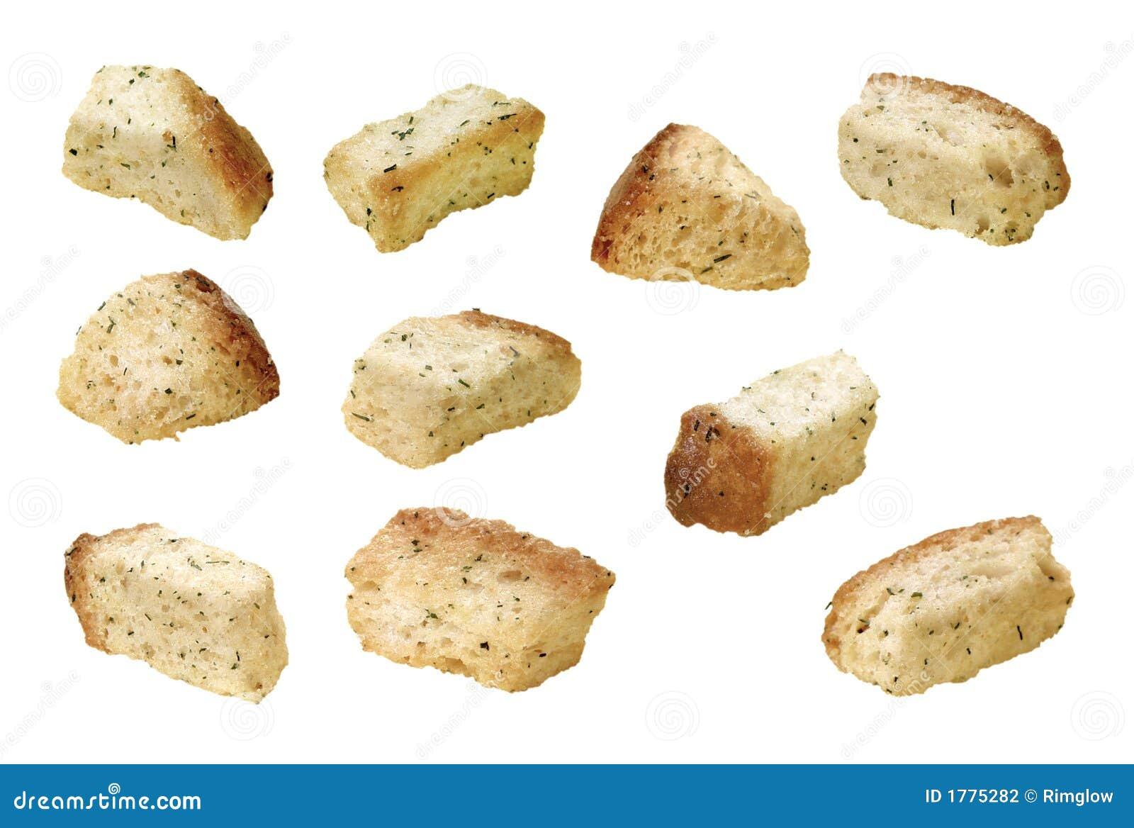 油煎方型小面包片