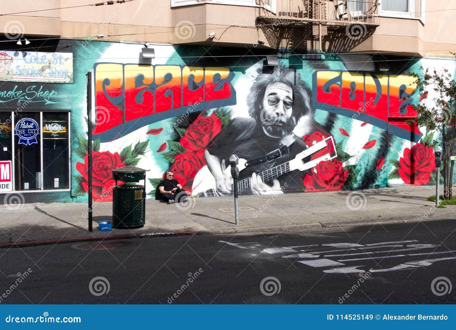 油菜街道壁画