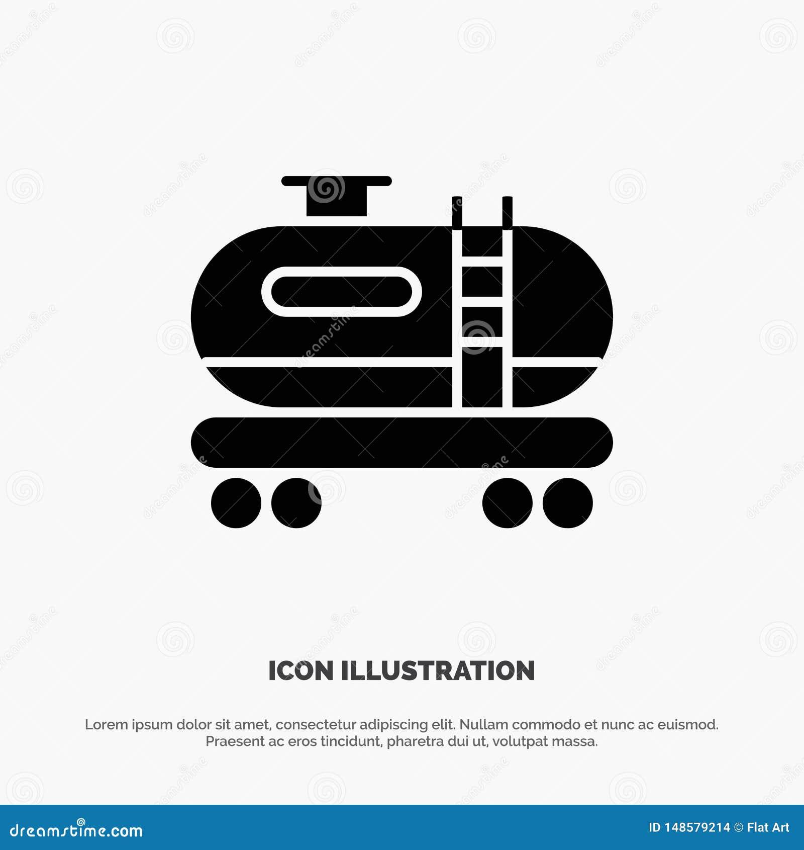 油,坦克,污染坚实纵的沟纹象传染媒介
