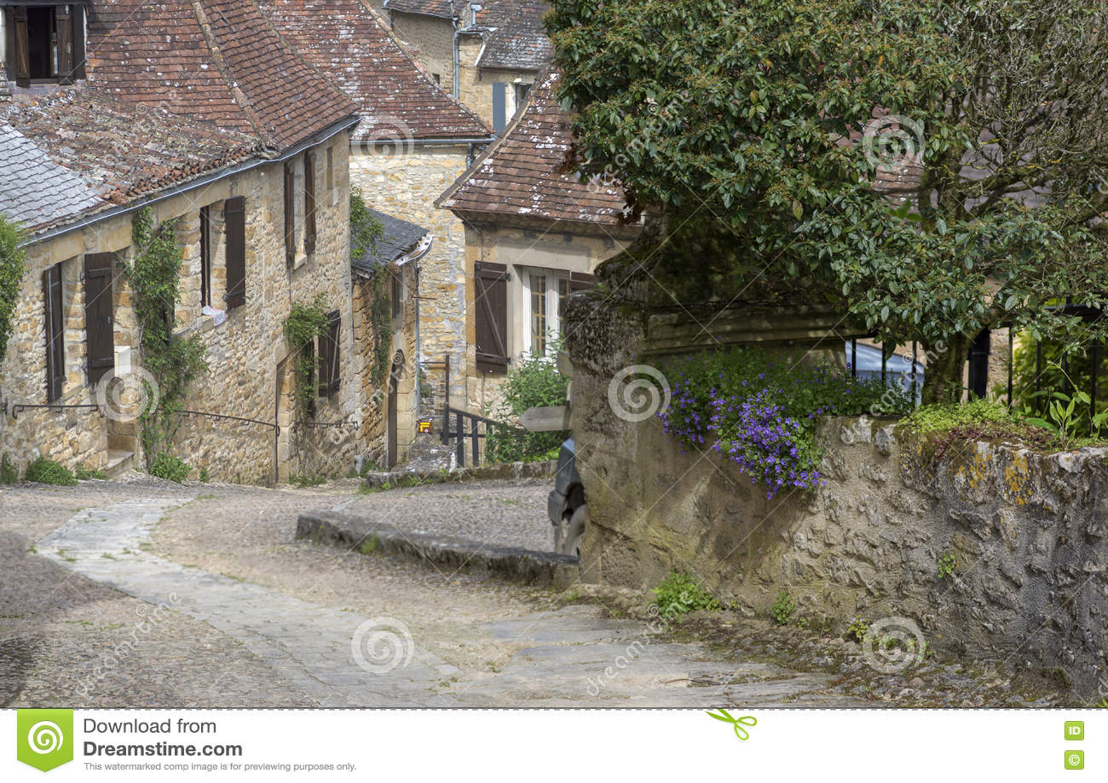 法国美丽如画的村庄