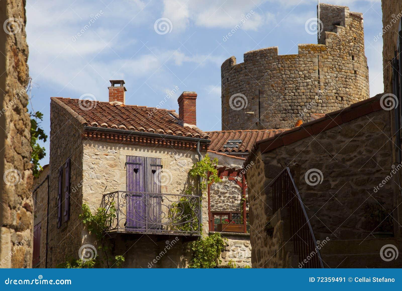 法国,奥韦涅, Montpeyroux村庄