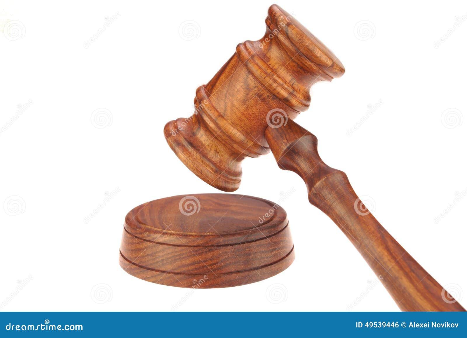 法官或主席或拍卖人硬木惊堂木