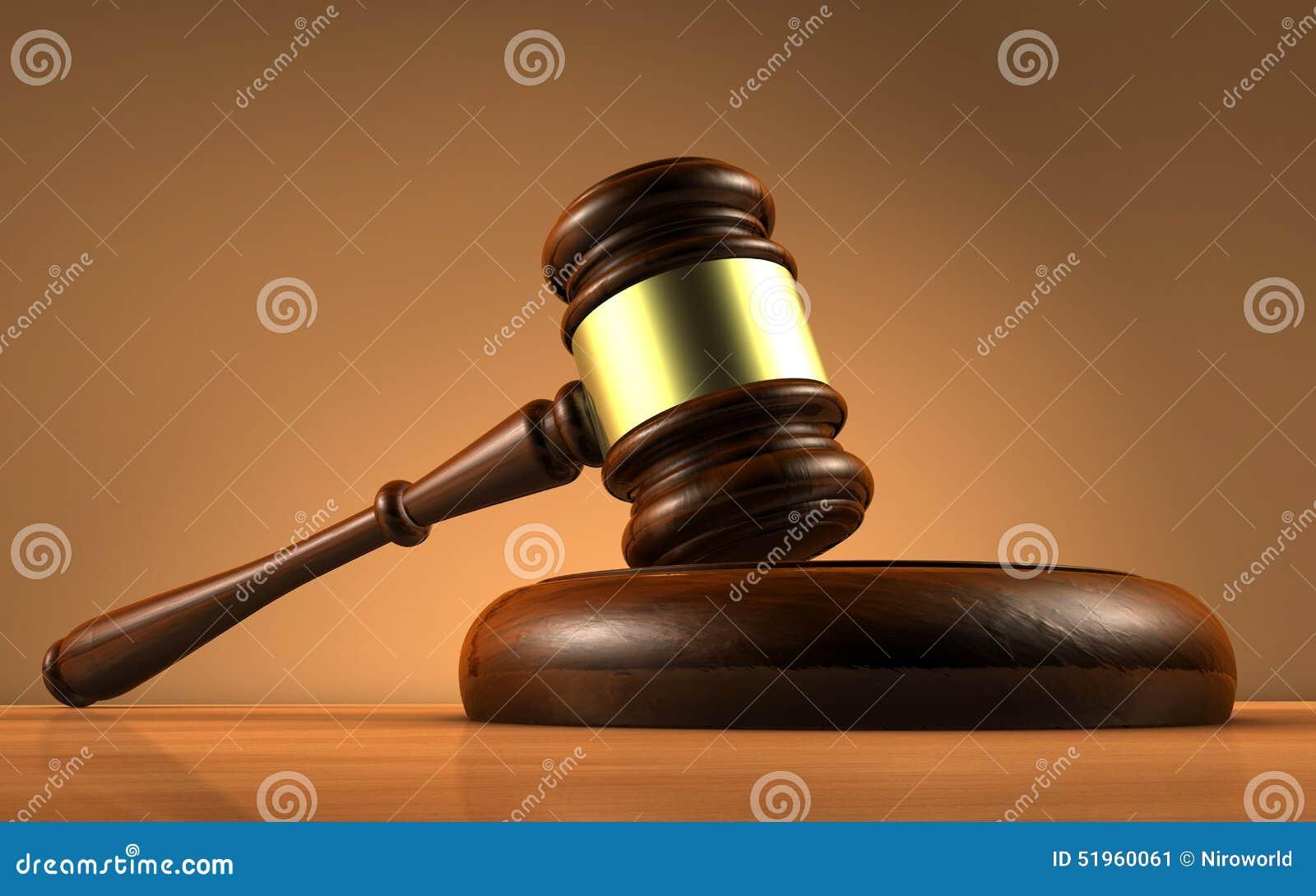 法官法律和正义标志