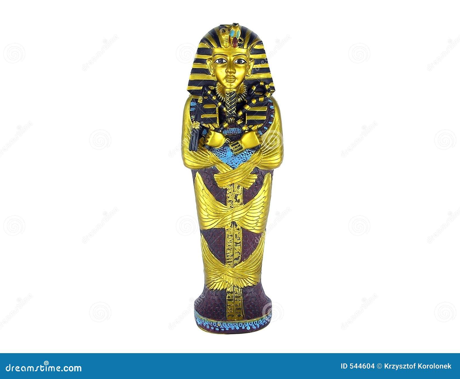 埃及法老王雕象.