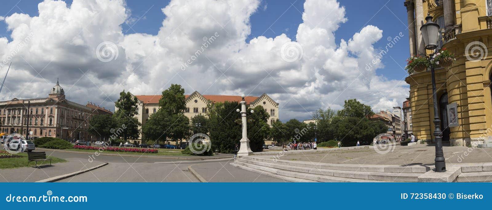 法警铁托广场在萨格勒布, Vroatia