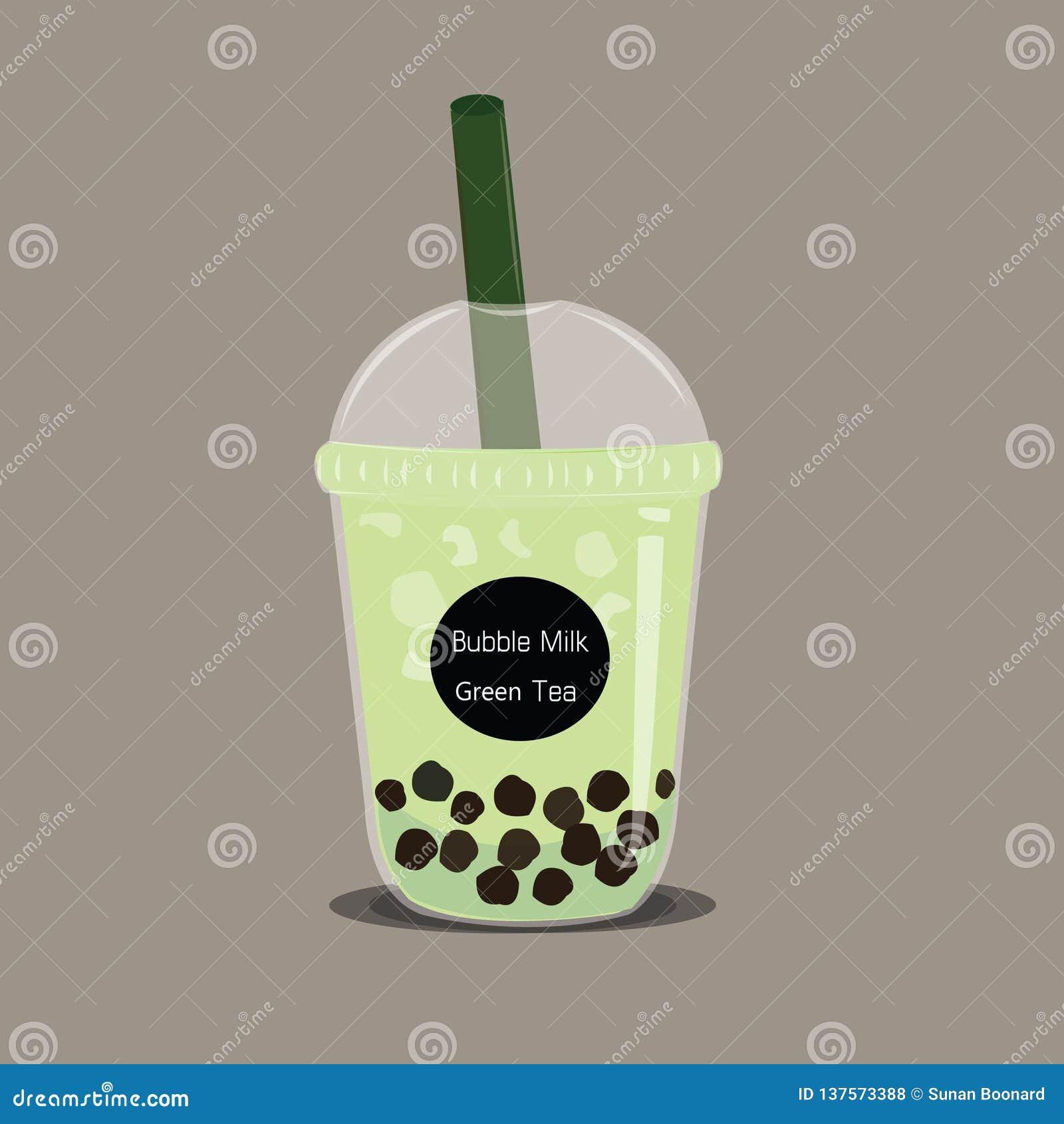 泡影matcha绿色奶茶传染媒介