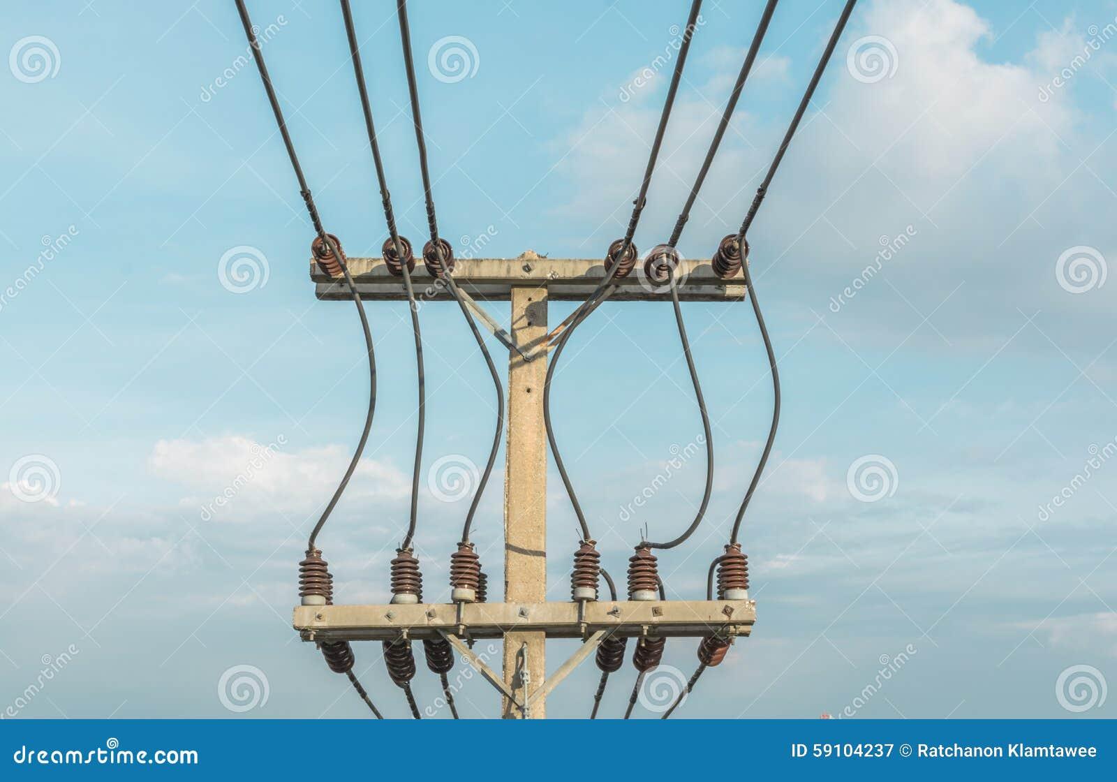 波兰人和输电线